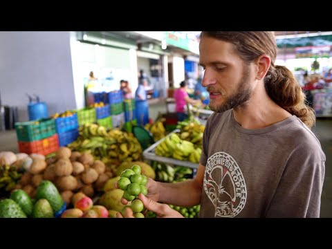 Tropical Fruit Bliss @ MEGA Farmer's Market In Costa Rica!