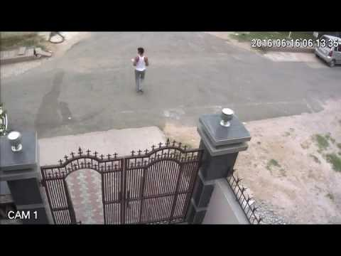 Robbery of 2 laptop 2 phone in gurgaon Manesar sec-1 ,  CCTV footage submitted to police, no action