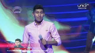 Juan hará vibrar el escenario  | Noches de pasión |  Factor X Bolivia 2018