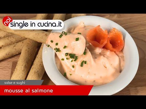 Mousse al salmone