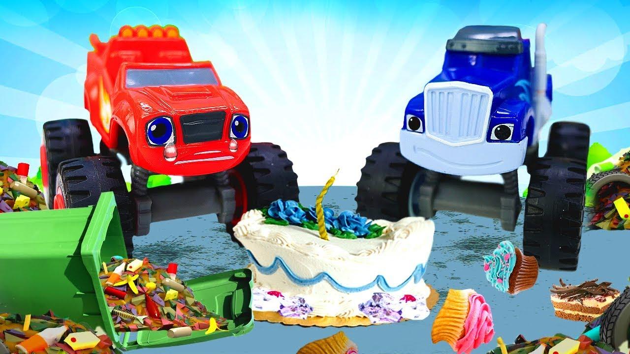 Машинки для детей — Вспыш и чудо-машинки — Крушила, убирай ...