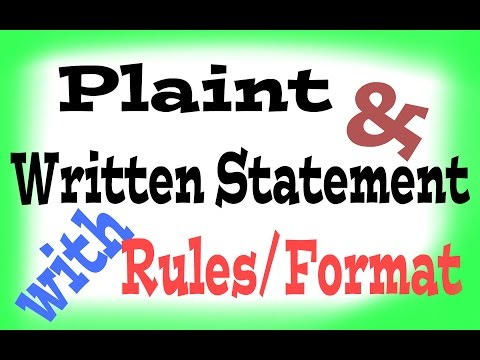 Legal Drafting and Pleading