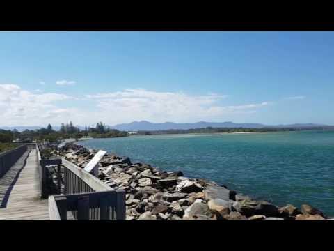 A Quick View of Urunga Boardwalk