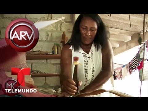 Diseñadora crea accesorios con hojas de plátanos | Al Rojo Vivo | Telemundo