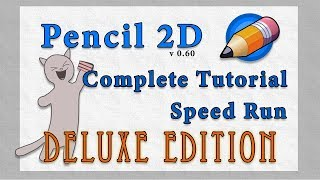 Pencil 2D [Free Animation Software][Tutorial Deluxe Edition]
