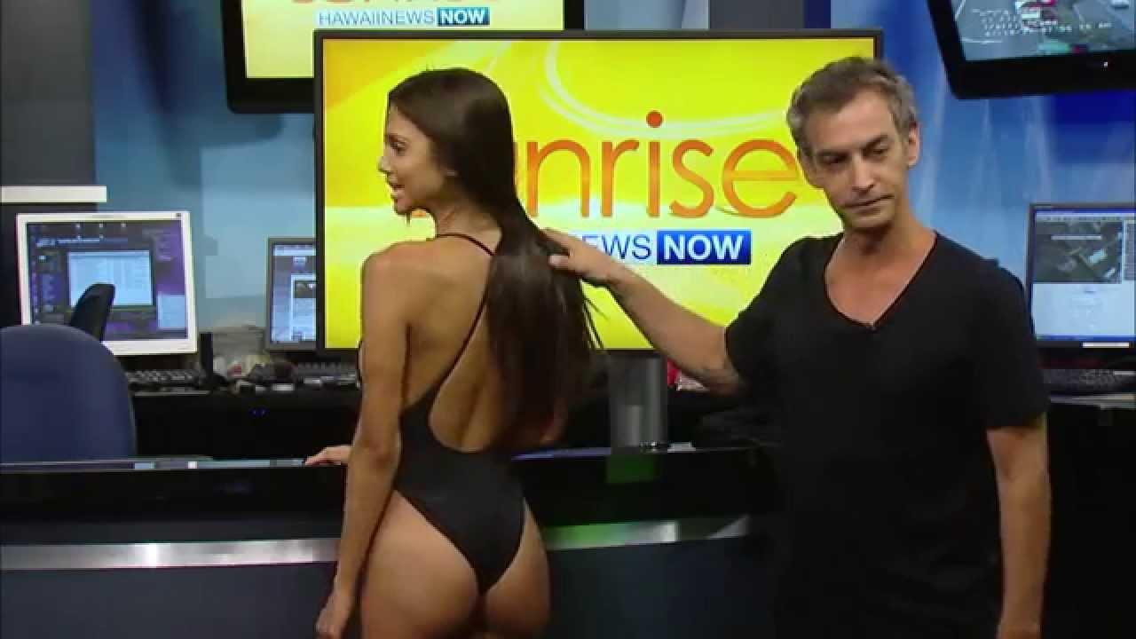 Der beste Job der Welt - Models den Badeanzug zerschneiden