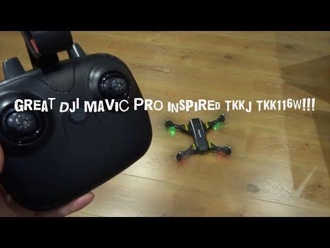 TKKJ TKK116W RTF Camera Quad - Review (first 26.28 mins) + unboxing & set up
