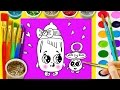 Teach Drawing to Kids Baby Bottle Coloring Page for Children Learn Paint with  Water color