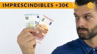 MATERIAL DE FÚTBOL POR MENOS DE 30€