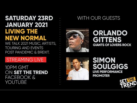 SET THE TREND LIVE | with ORLANDO GITTENS & SIMON SOULGIGS