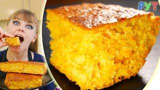 МОРКОВНЫЙ ПИРОГ Самый Простой и Вкусный Рецепт! Как приготовить Необычный Морковный Пирог!