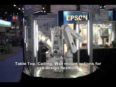EPSON C3, S5 & S5L 6-Axis Robots