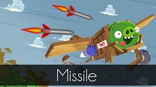 Bad Piggies - Missile Destroys Aircraft! - Field of Dreams - Airplane