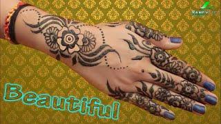मेहंदी डिजाइन | Latest Beautiful Mehndi Design | Easy and Fast Mehndi Design