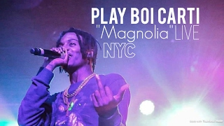 PlayBoiCarti Performs Hit Song 'Magnolia' NYC