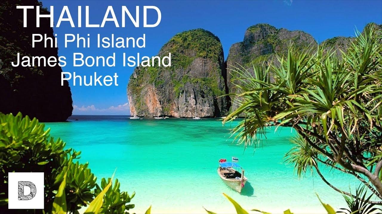 Thailand 2017 Phuket Phi Phi Island James Bond Island