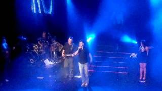 Andy & Lucas concierto Madrid 2011 Despedida .