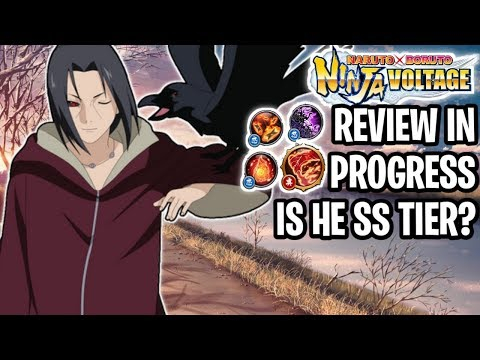 💥Review In Progress Is EDO ITACHI SS TIER META? (You Decide) | Naruto X Boruto Ninja Voltage