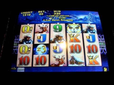 timber wolf slot machine
