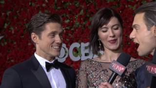 Red Carpet: Aaron Tveit & Mary Elizabeth Winstead (2016)