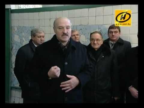 Лукашенко проверил 'Камволь'-кадровые