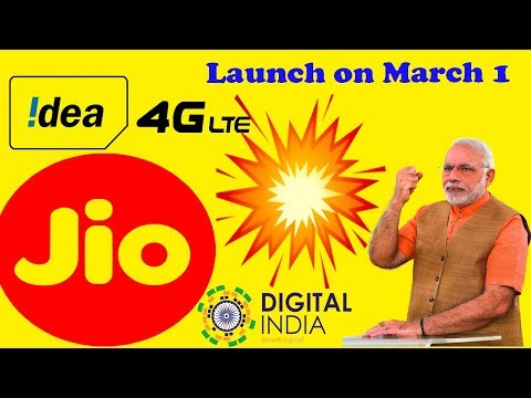 😁Idea 4G VoLTE Services to Launch on March 1
