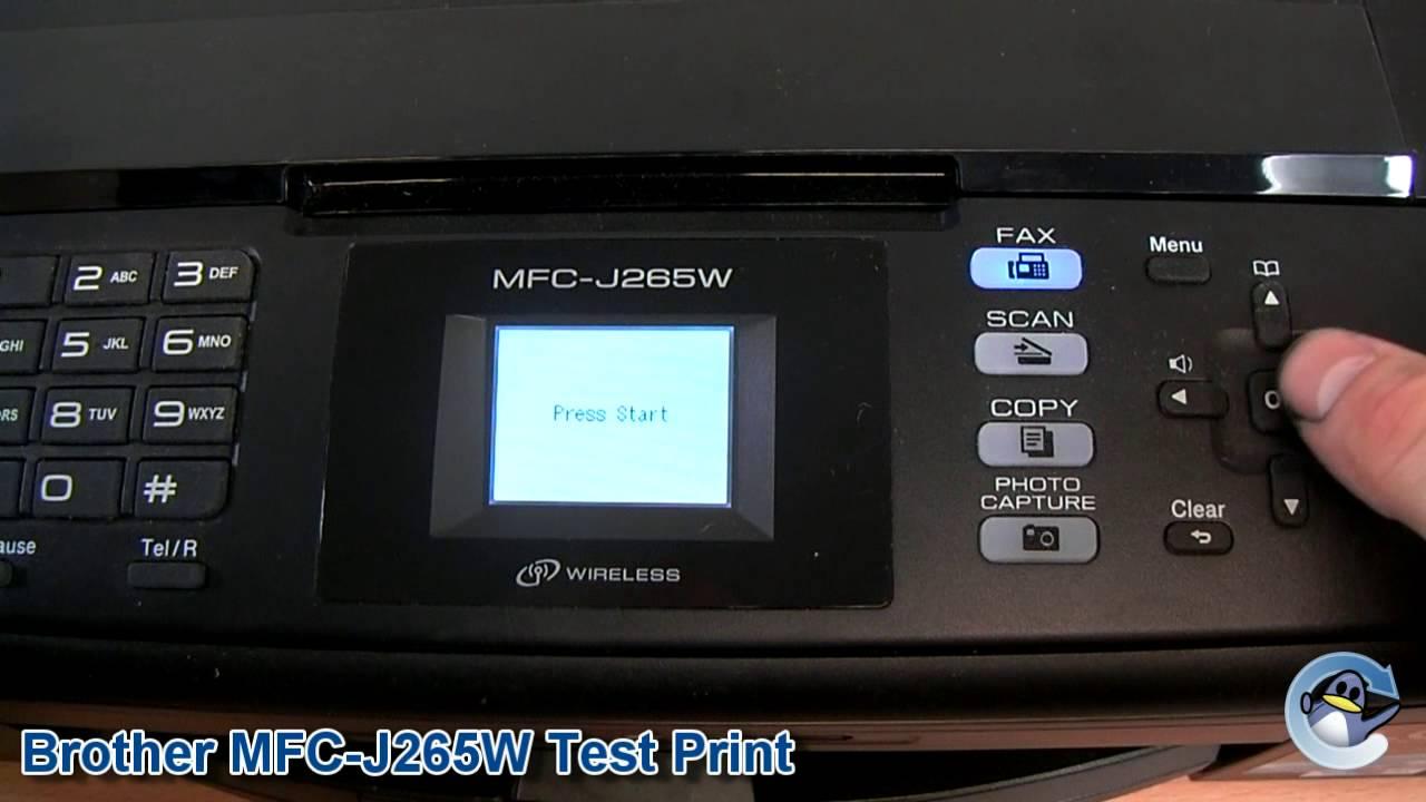 MFC-J265W DRIVER WINDOWS XP