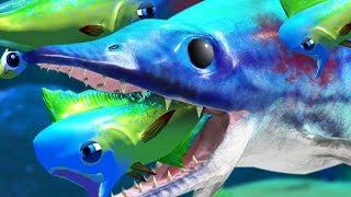 MAHI MAHI vs MARINE REPTILE ICHTHYOSAURUS - Feed and Grow Fish - Part 55   Pungence