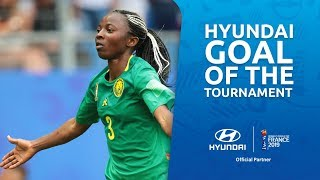Ajara NCHOUT – HYUNDAI GOAL OF THE TOURNAMENT – NOMINEE