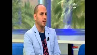 Fadi Tolbi - mbc فادي طلبي لقناة ام بي سي : أعمالي هادفة و ملتزمة