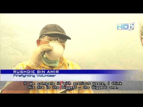 Indonesia Begins Cloud Seeding To Fight Haze - 23Jun2013