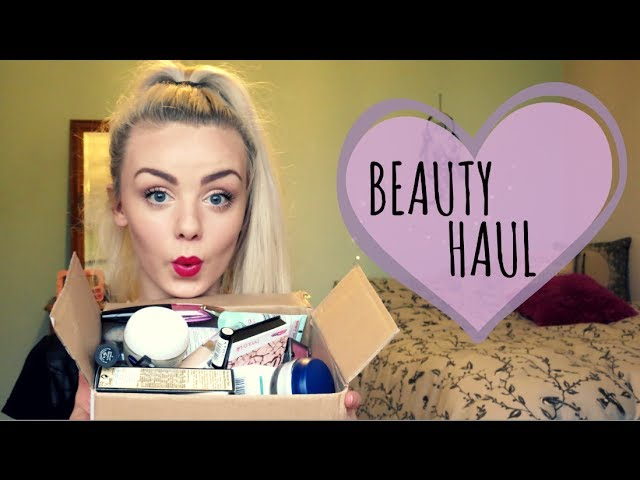 Huge Beauty Haul | Boots, Superdrug & More!