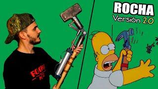 Me volví LOCO fabricando el martillo de Homer pero a lo bestia.