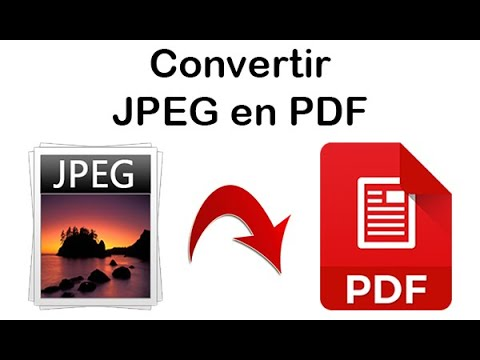 Comment Convertir Jpeg En Pdf Sur Windows 10 Convertir Une Image En Pdf Youtube