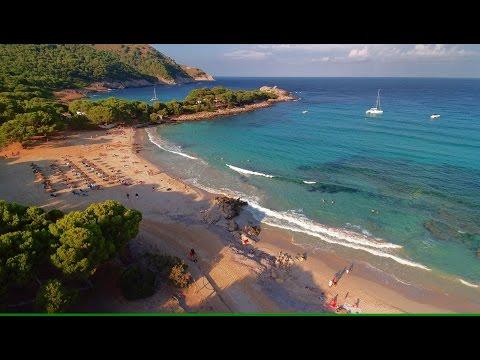 Cala Mesquida - Cala Agulla - Es Ribell - Luftaufnahmen der Badebuchten in HD (1080)