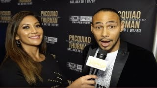 Keith Thurman: Pacquiao PACQI-WOW! I'm the SUPER Champion; Pacquiao is just  the regular!
