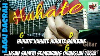 Huhate | Lagu Daerah Maluku | Lirik dan Chord | Guitar Cover by Van