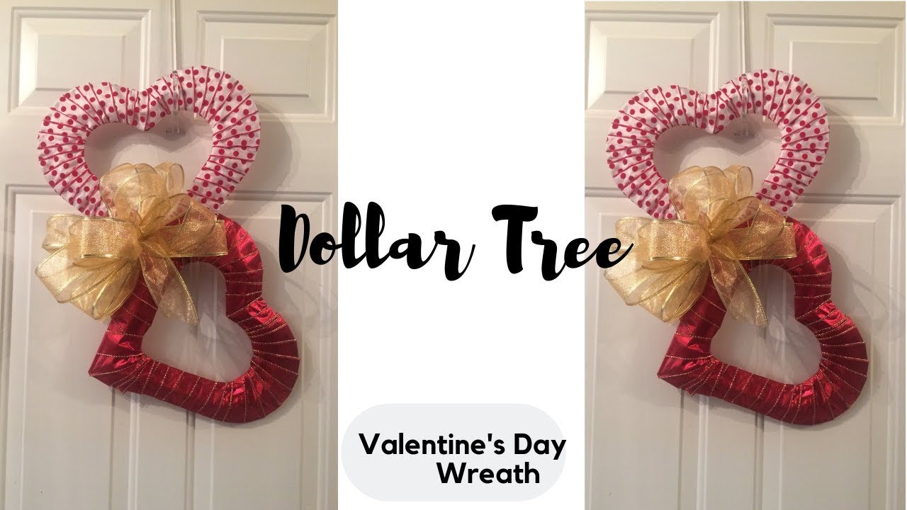 Heart Wreath Dollar Tree