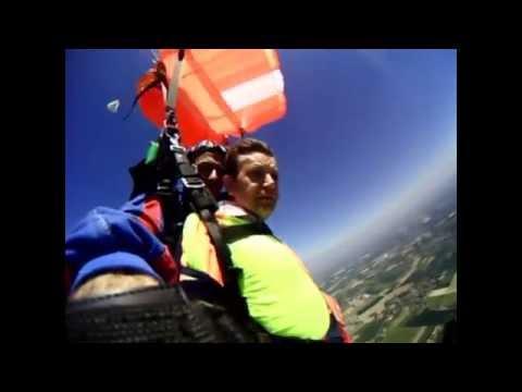 parachutisme octeville sur mer