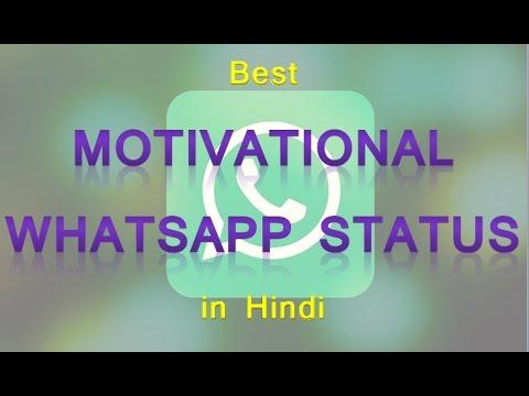 best motivational whatsapp status in