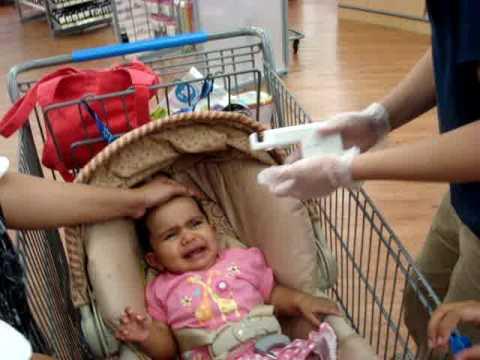 Fazeela Syed Ear Piercing At Wal Mart Youtube