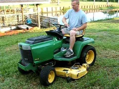 John Deere 345 >> John Deere 345 Tractor Power Steering