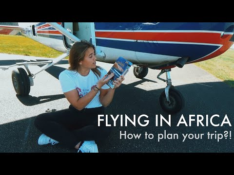 Flying In Africa: How To Plan Your Trip?! (Hour Building Or Just For Fun!)