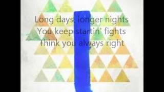 Mac Miller - Missed Calls - Lyrics
