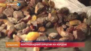 видео Поляк намагався перевезти через кордон понад 56 кілограмів бурштину