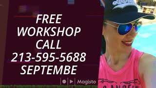Free Workshop call 213-595-5688 September 6 (Instagram)