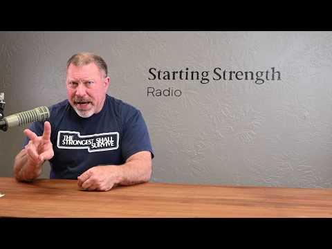 Criteria For Strength Training | Starting Strength Radio Clip