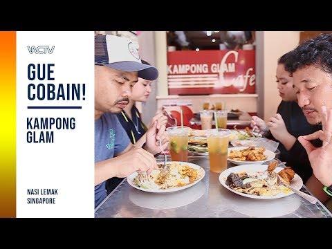 GUE COBAIN! -  KAMPONG GLAM CAFE SINGAPORE