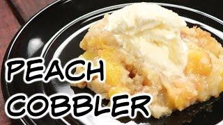 5 Ingredient Peach Cobbler