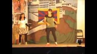 Sajna Anari Baiman - Race by Tibetan School girls